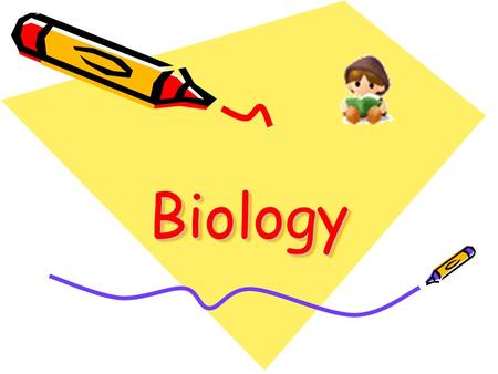 BiologyBiology. Curriculum structure and Organisation.