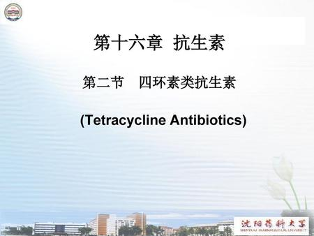 (Tetracycline Antibiotics)