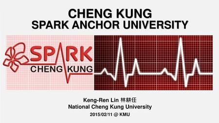 CHENG KUNG SPARK ANCHOR UNIVERSITY