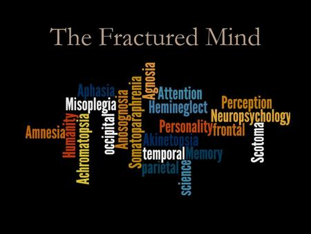 The Fractured Mind.