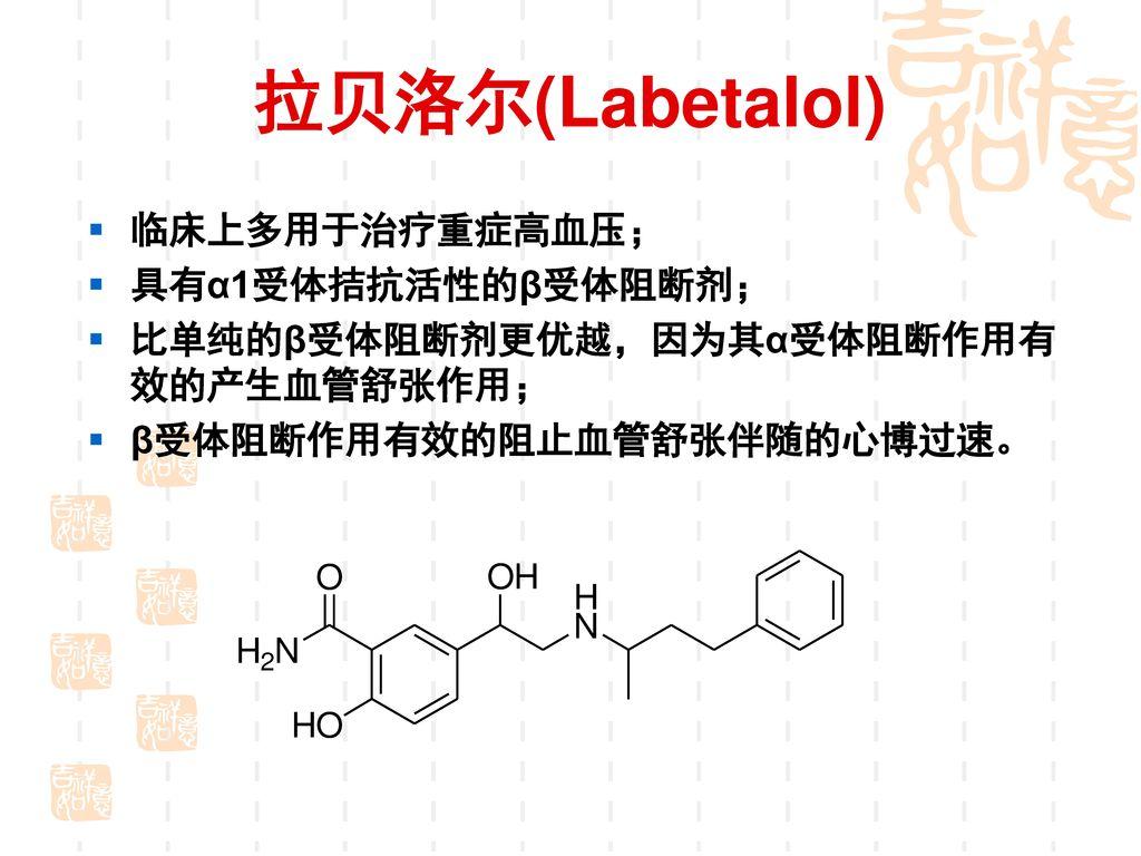 二、 β-受体阻断剂 Classification-2