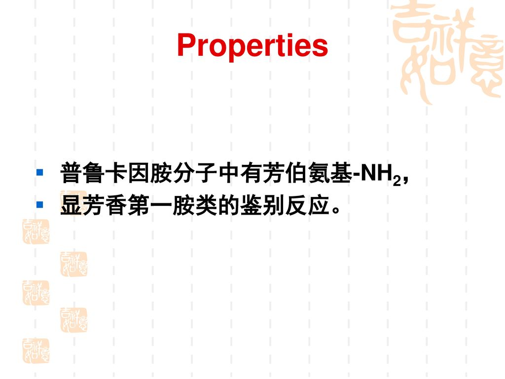 (二)盐酸普鲁卡因胺(Procainamide Hydrochloride)