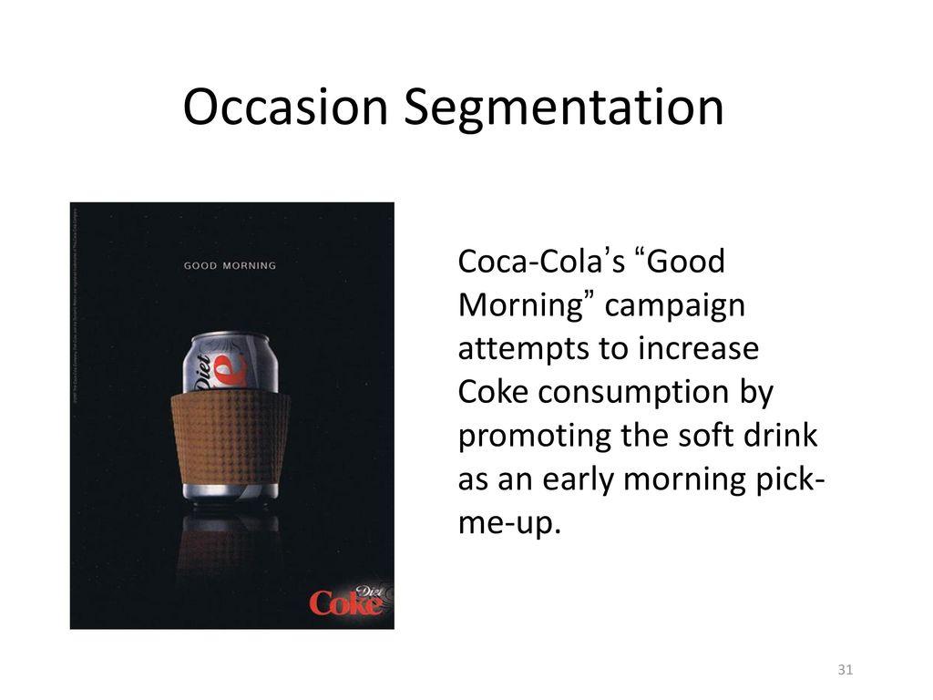 Occasion Segmentation