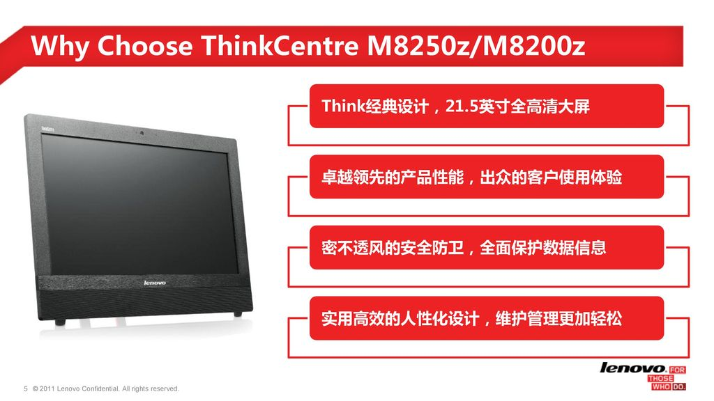Why Choose ThinkCentre M8250z/M8200z