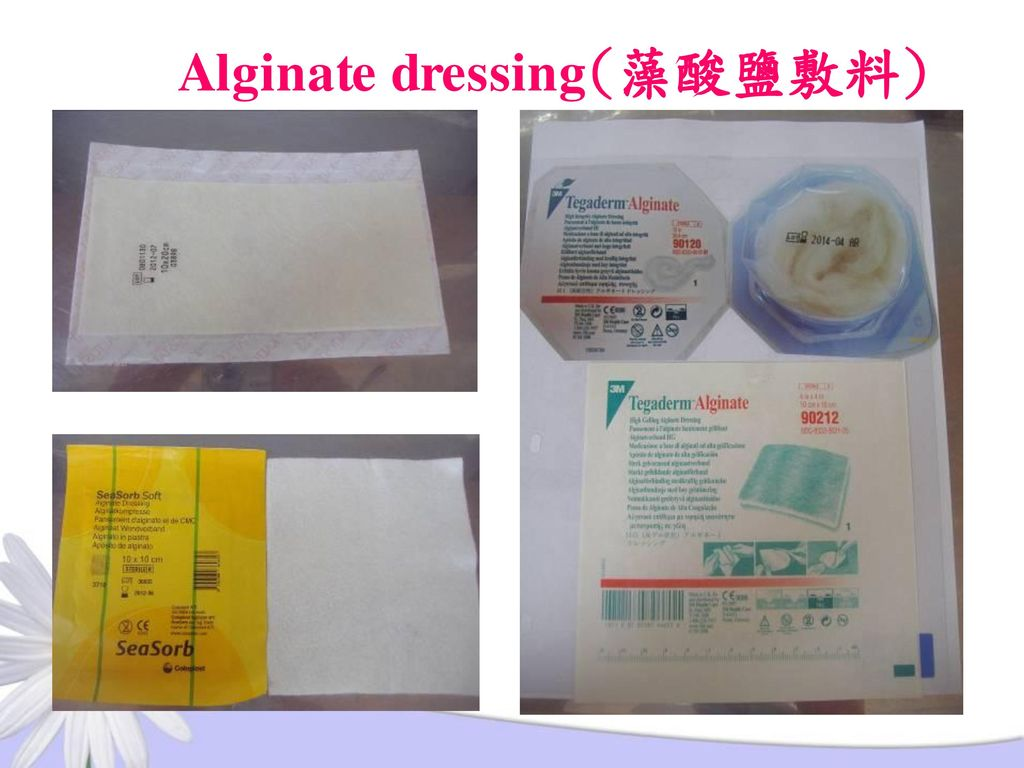 Alginate dressing(藻酸鹽敷料)