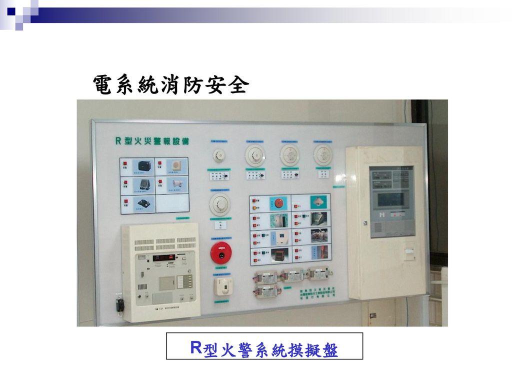 電系統消防安全 R 型火警系統摸擬盤