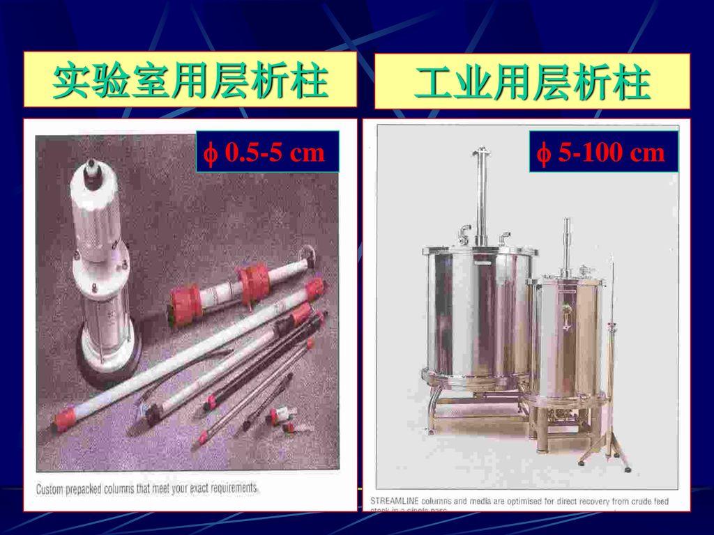实验室用层析柱 工业用层析柱  0.5-5 cm  5-100 cm