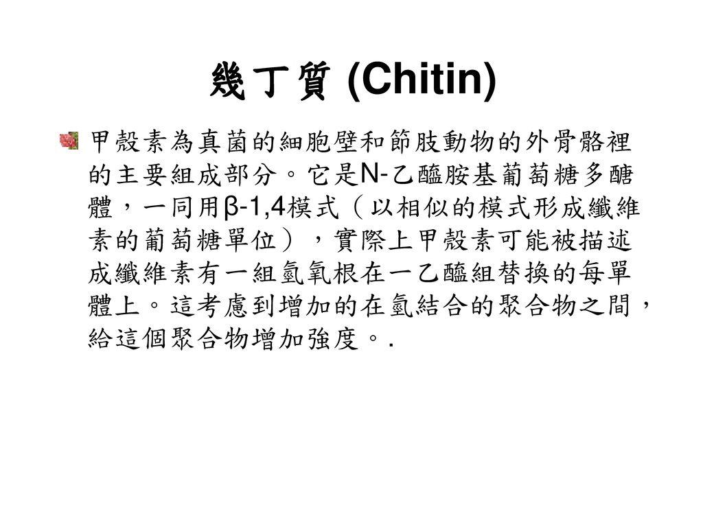 幾丁質 (Chitin)