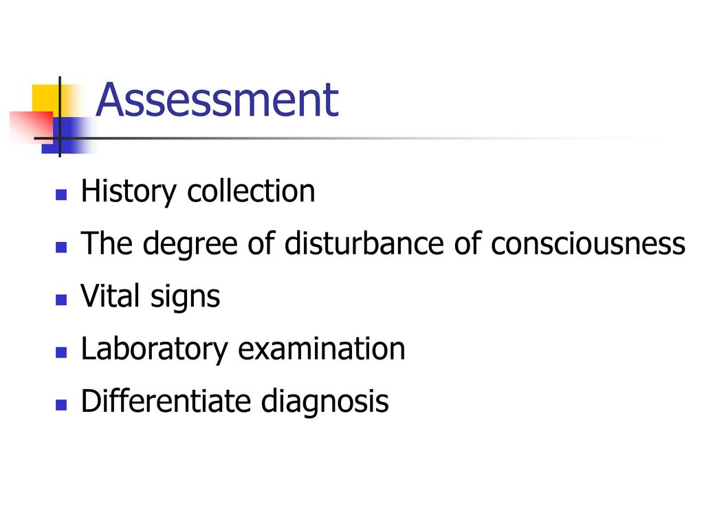 Assessment History collection
