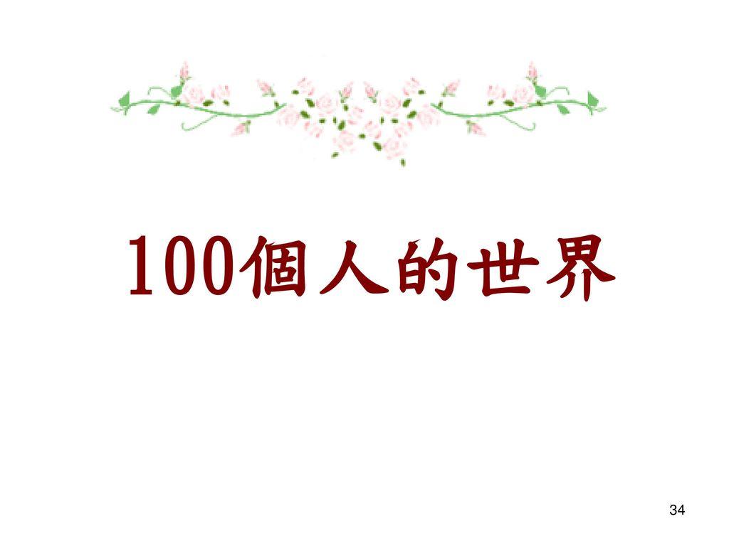 100個人的世界