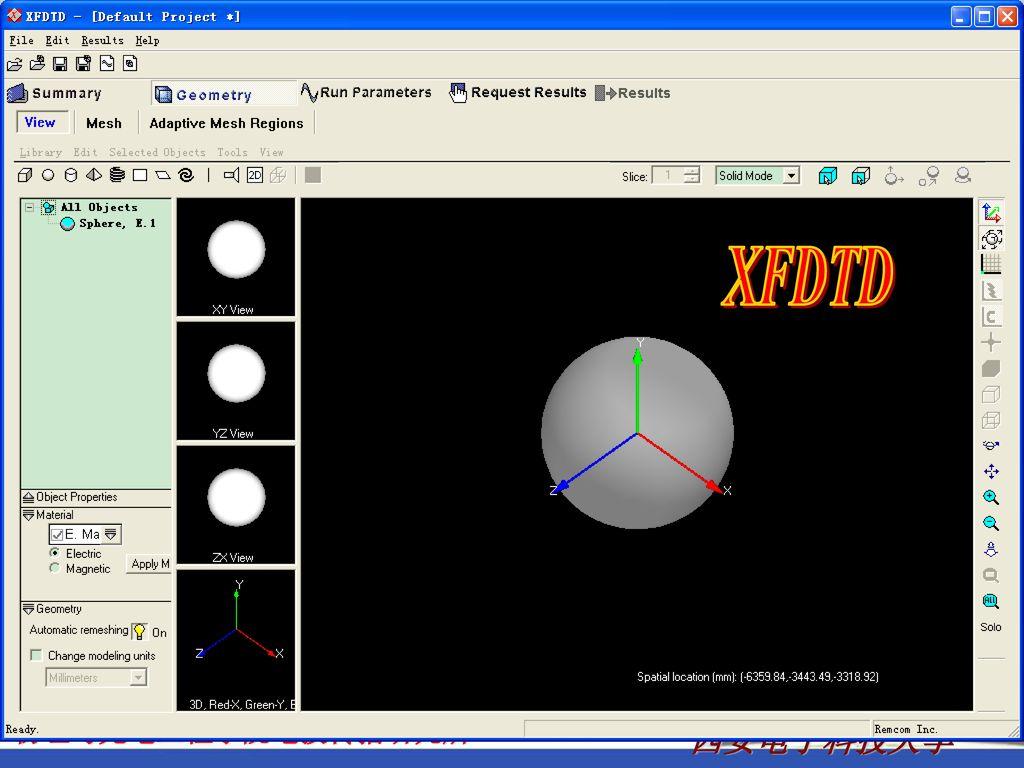 XFDTD