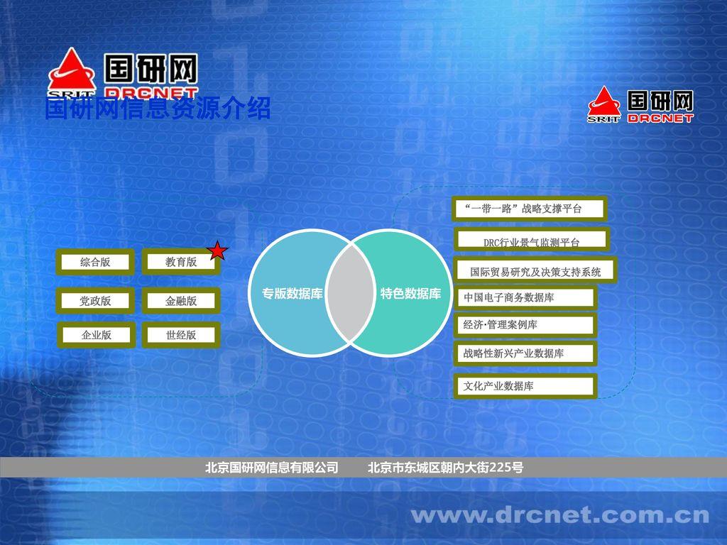 北京国研网信息有限公司 北京市东城区朝内大街225号