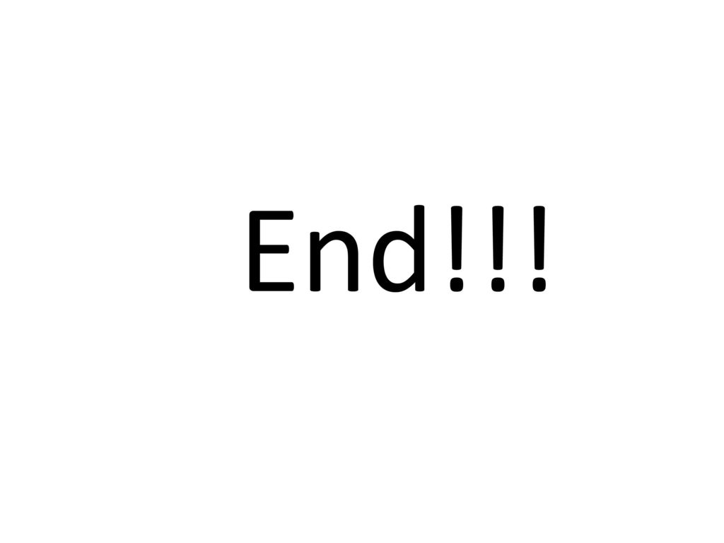 End!!!