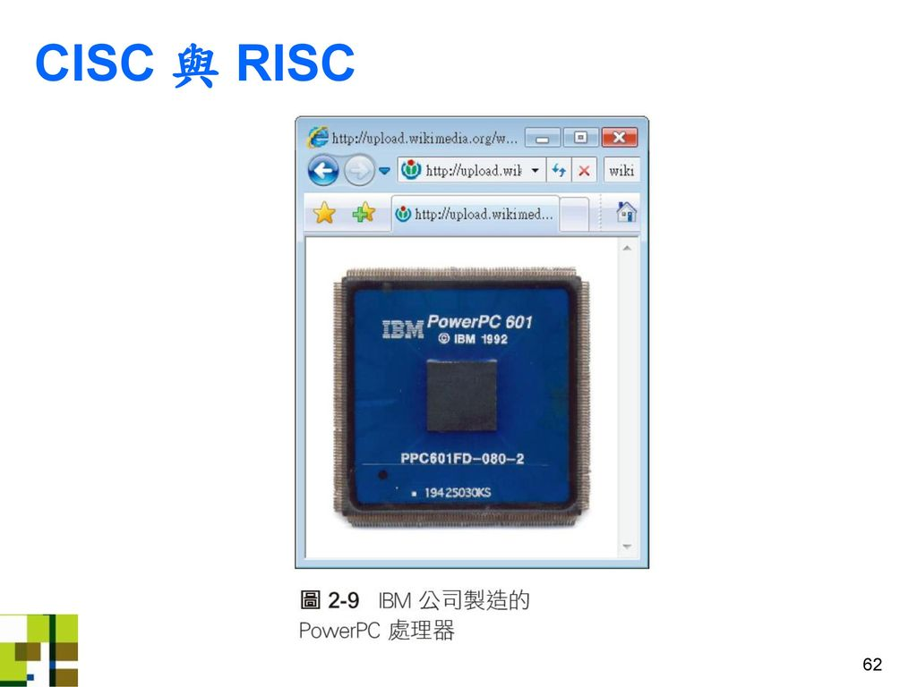 CISC 與 RISC