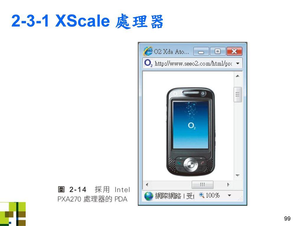 2-3-1 XScale 處理器