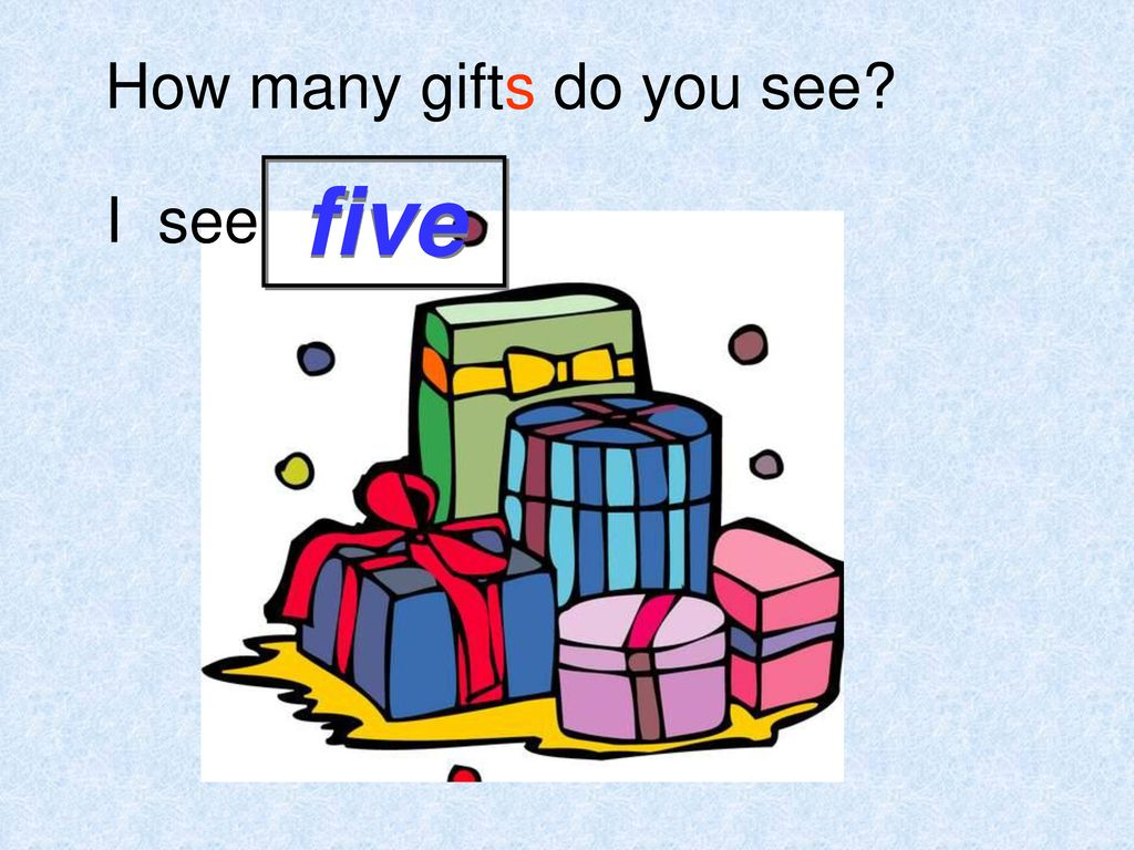 How many gifts do you see