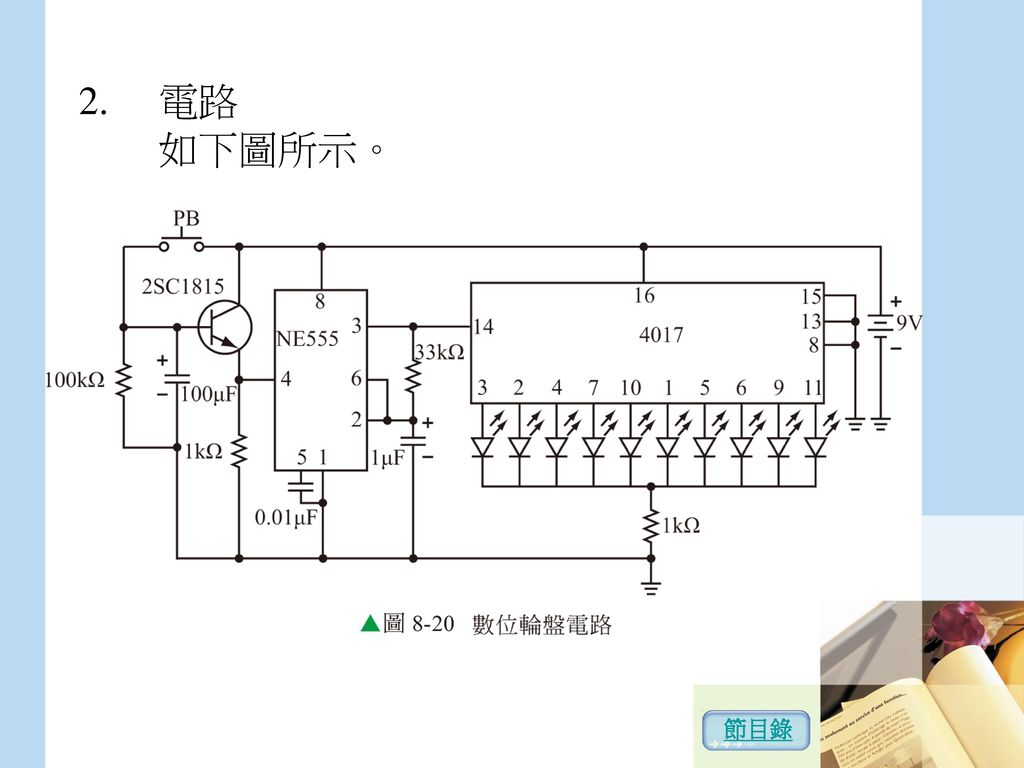 電路 如下圖所示。 節目錄
