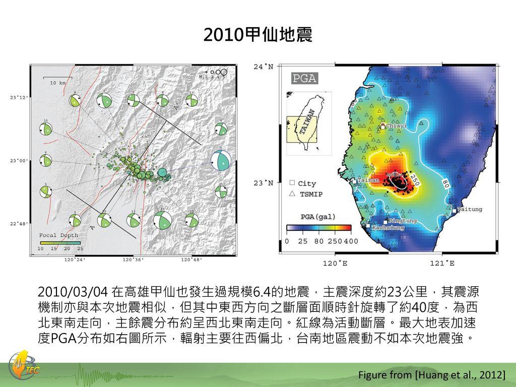 2010甲仙地震