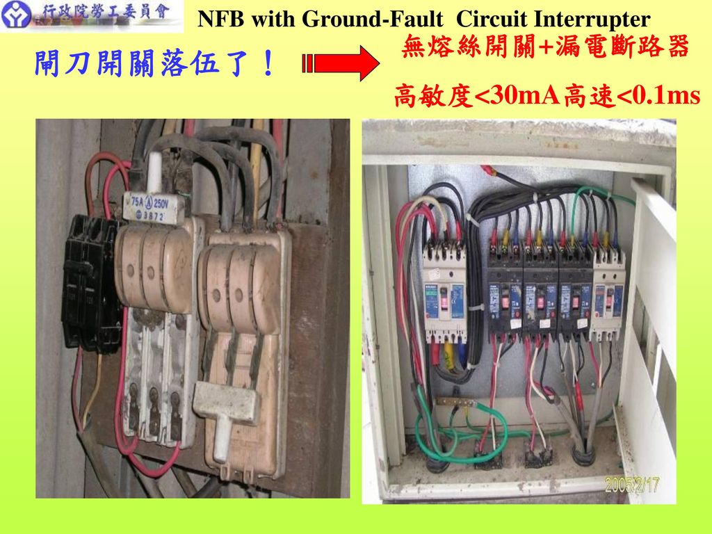 NFB with Ground-Fault Circuit Interrupter