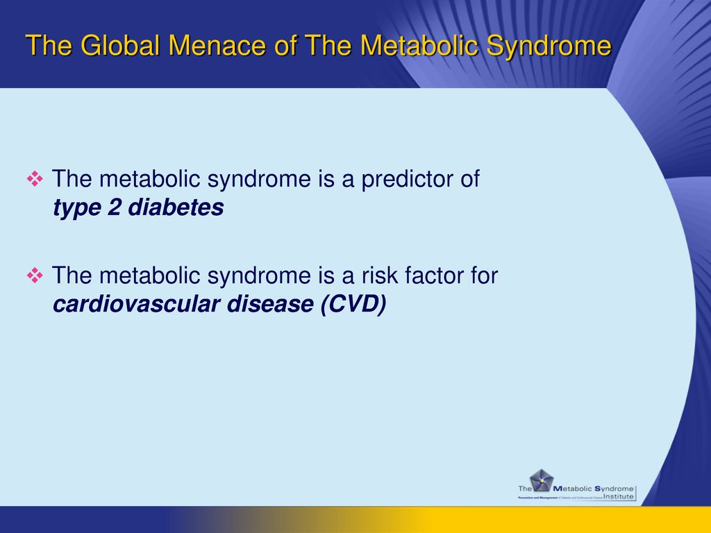 The Global Menace of The Metabolic Syndrome