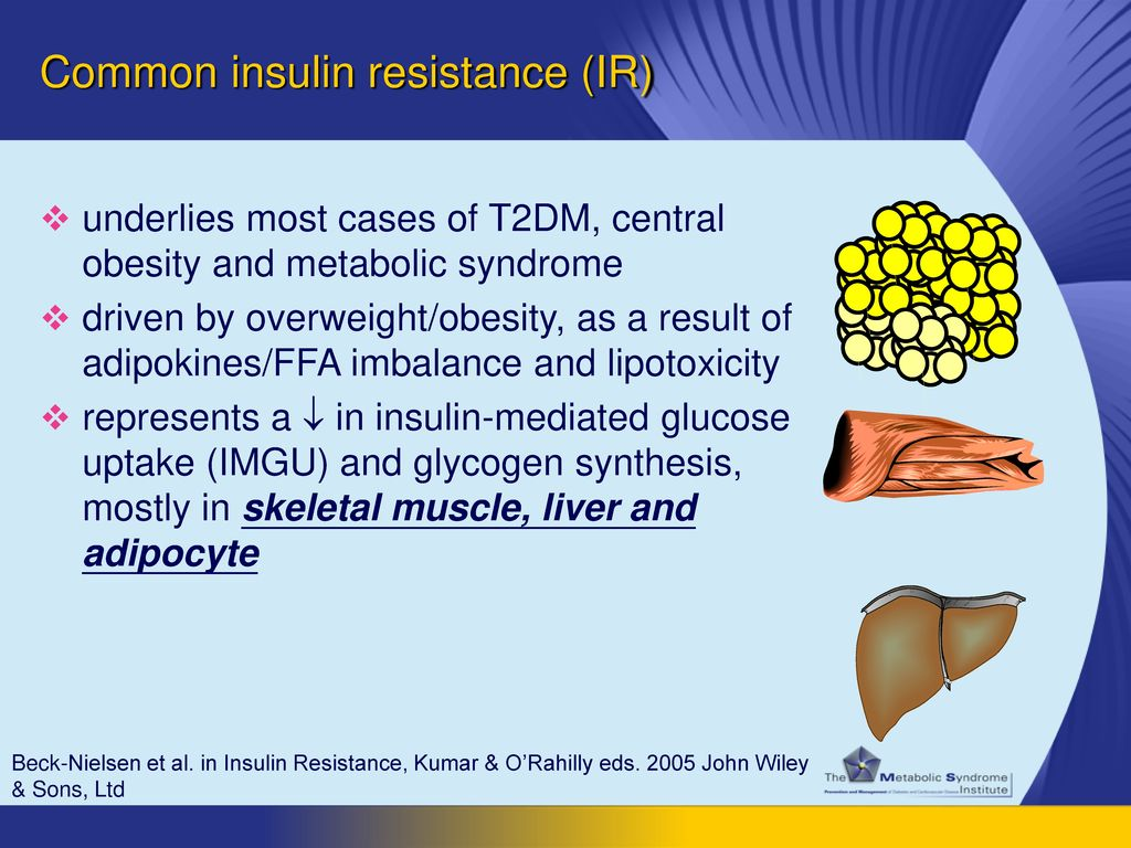 Common insulin resistance (IR)