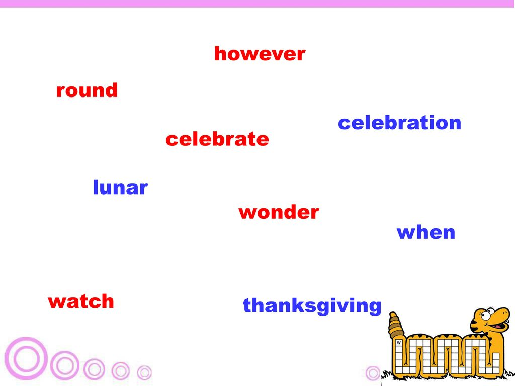 however round celebration celebrate lunar wonder when watch thanksgiving