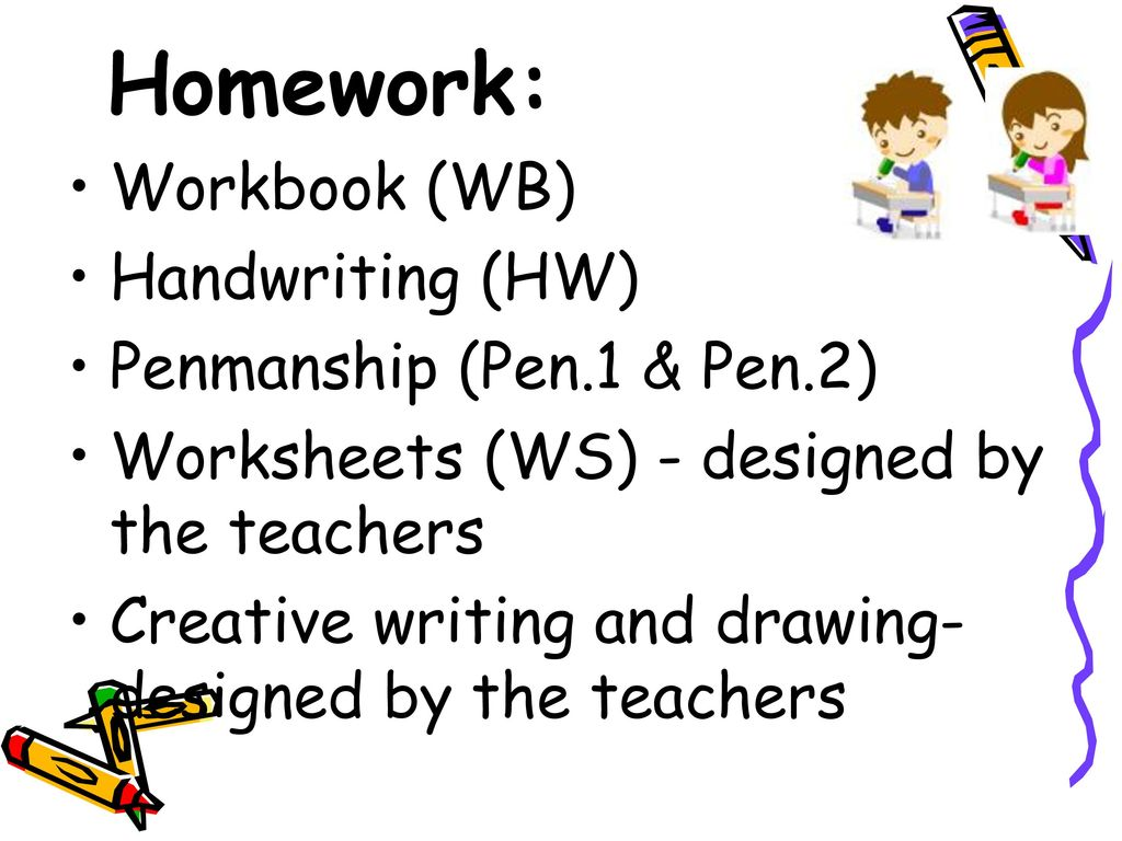 Worksheets (WS) - designed by the teachers