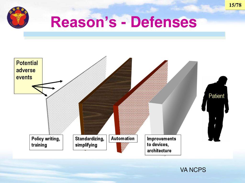 Reason's - Defenses VA NCPS