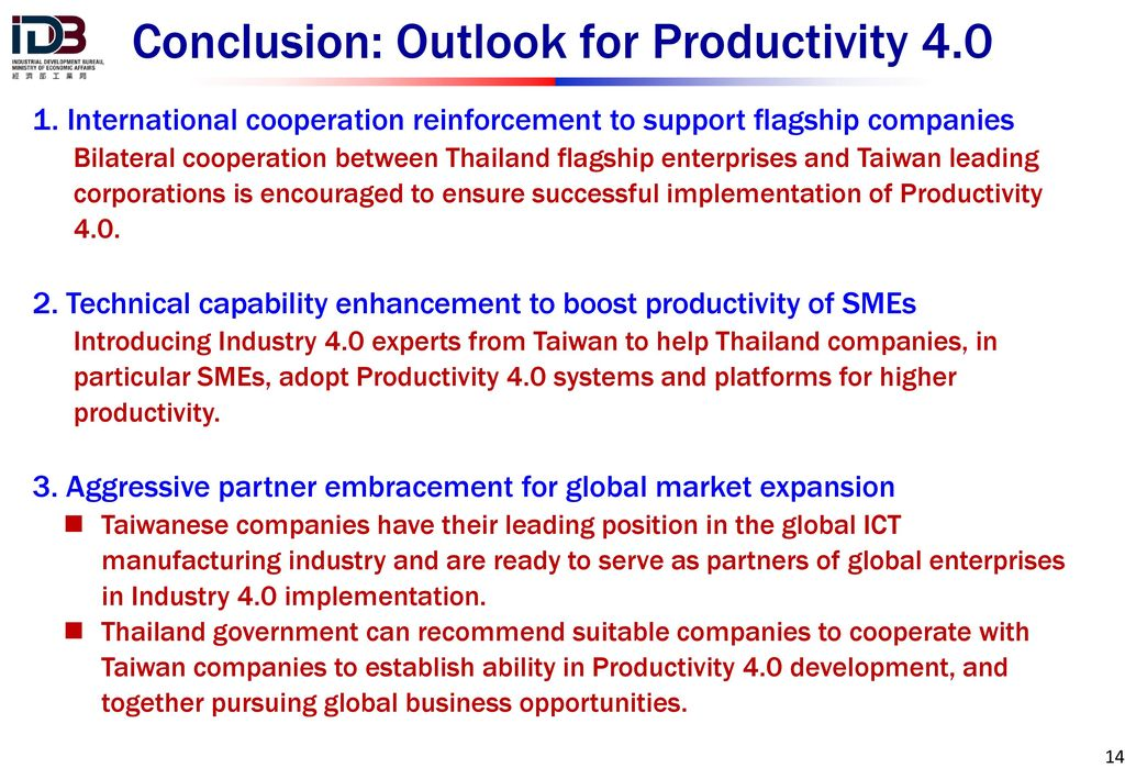 an industrial outlook on green productivity From the green revolution to the gene  from the green revolution to the gene revolution:  productivity growth was based on the premise that,.