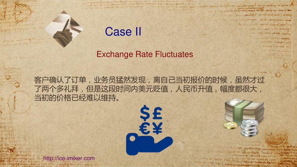 Case II Exchange Rate Fluctuates