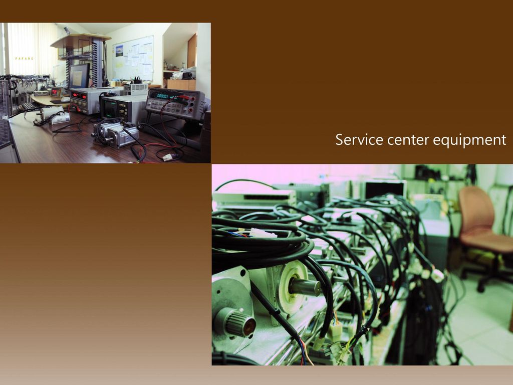 Service center equipment