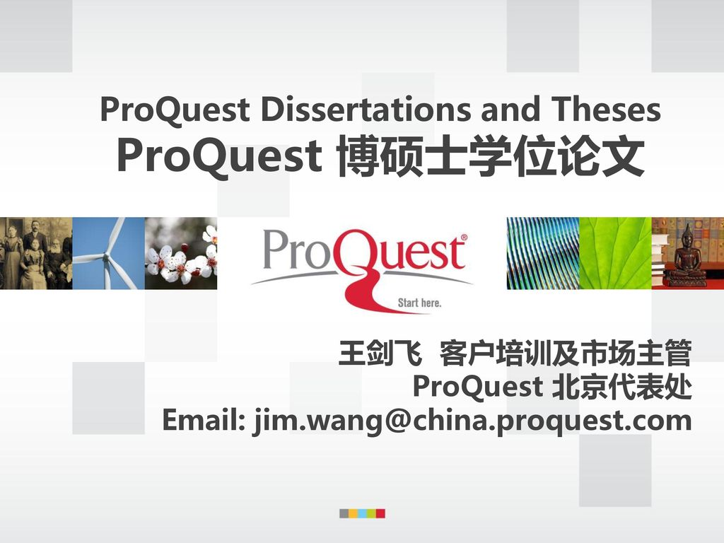 theses dissertations proquest Proquest is a private company that has acted for more than 60 years as the publisher and distributor for the majority of theses and dissertations written in the united states published theses and dissertations are listed in the proquest dissertations & theses (pqdt) database.