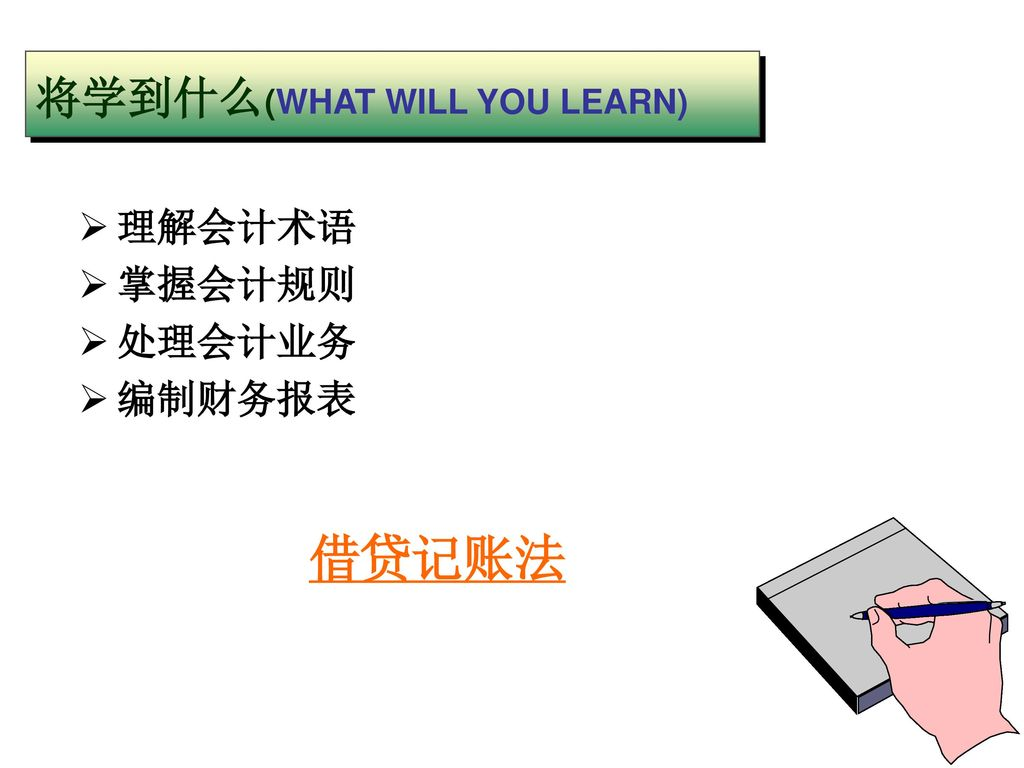 将学到什么(WHAT WILL YOU LEARN)