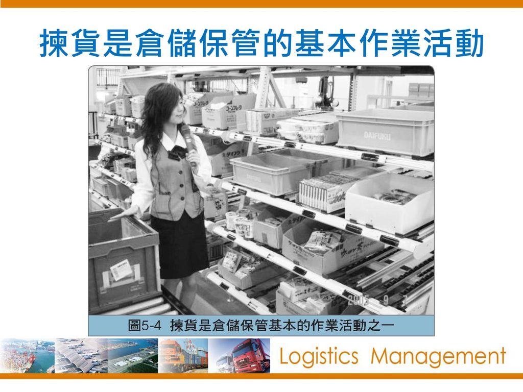 揀貨是倉儲保管的基本作業活動