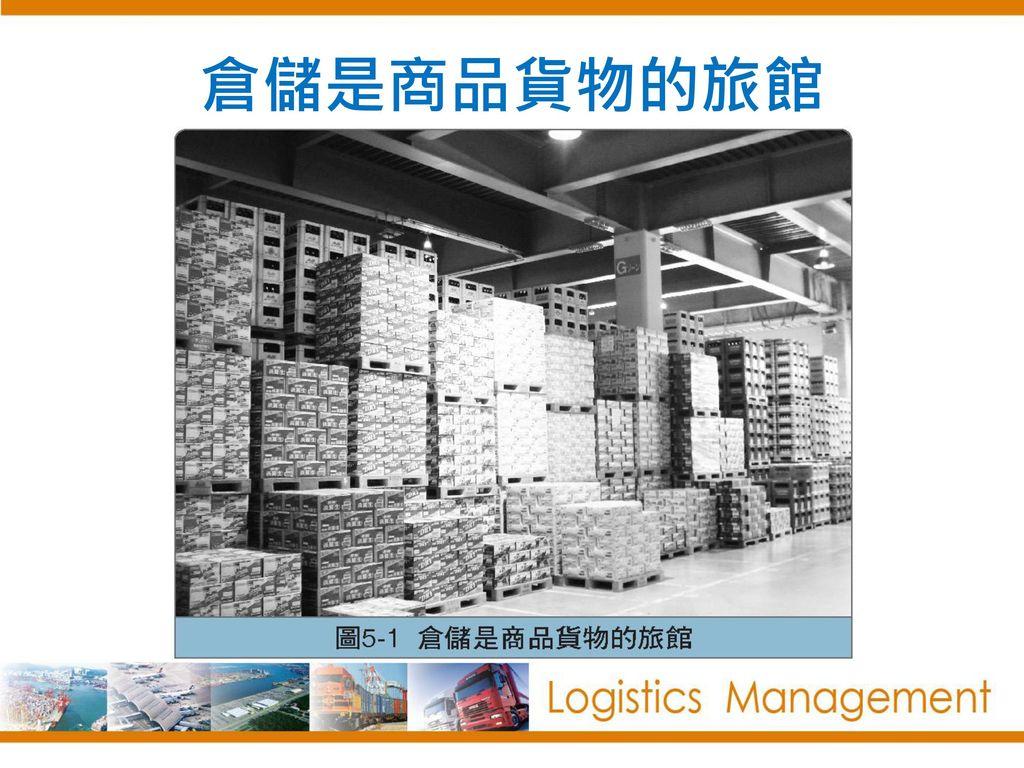倉儲是商品貨物的旅館