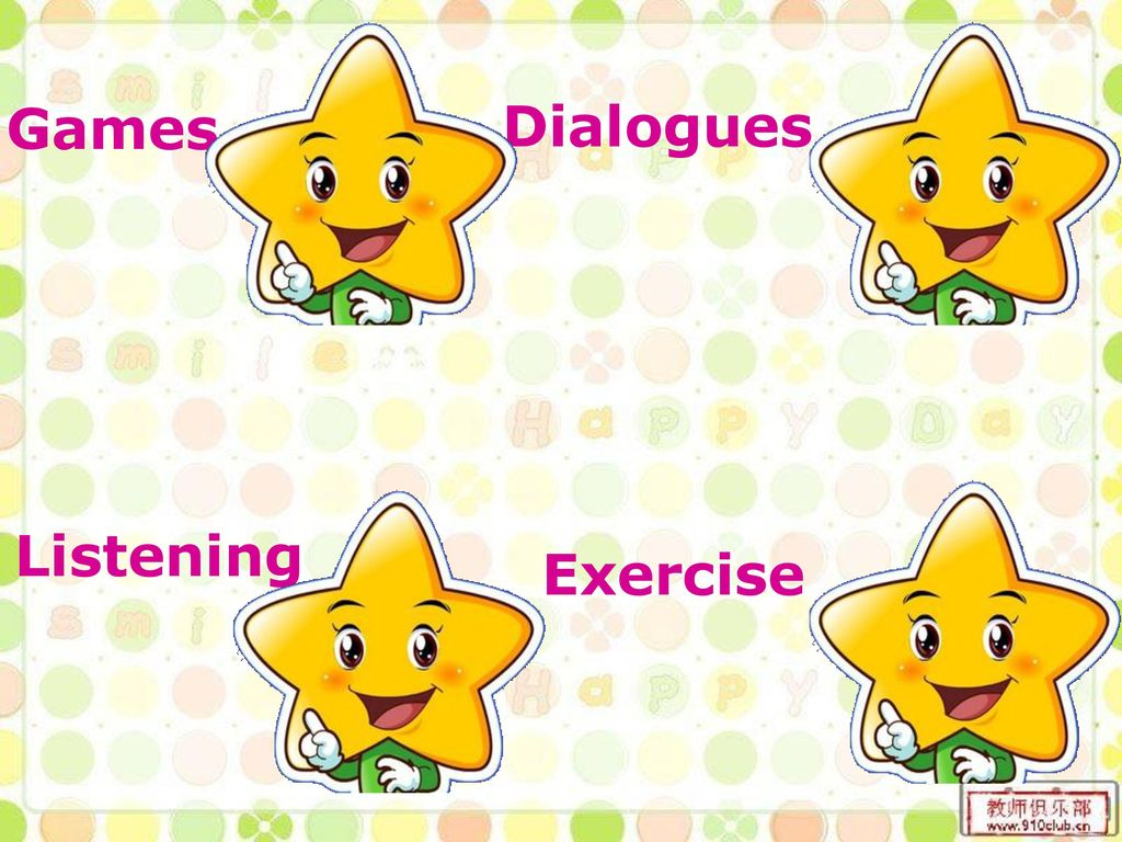 Games Dialogues Listening Exercise