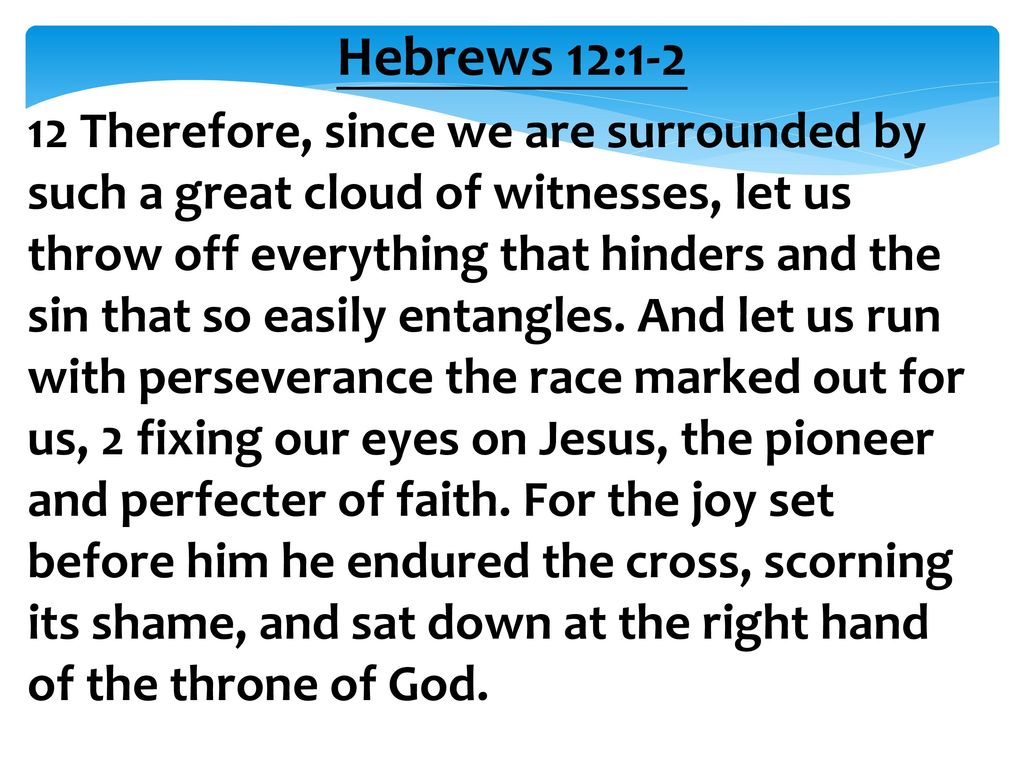 Hebrews 12:1-2