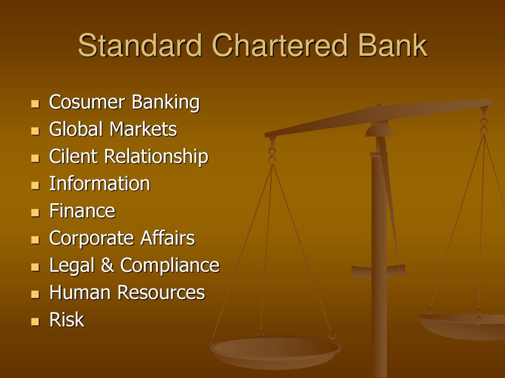 standard chartered bank sme relationship manager