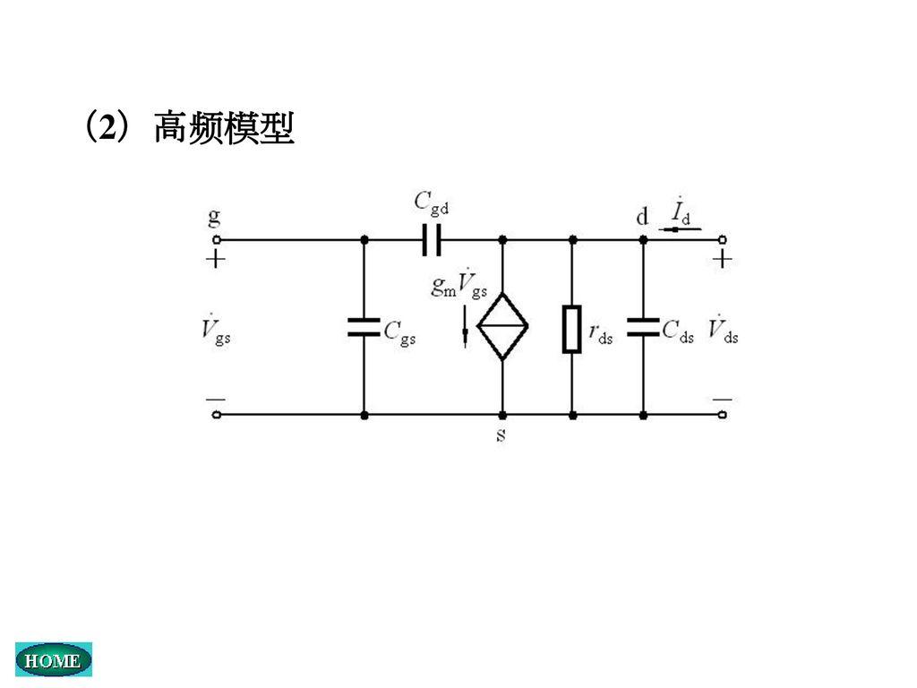 (2)高频模型