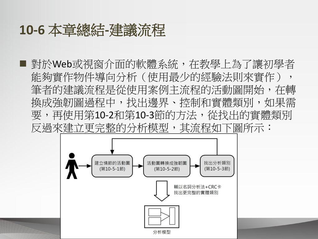 10-6 本章總結-建議流程