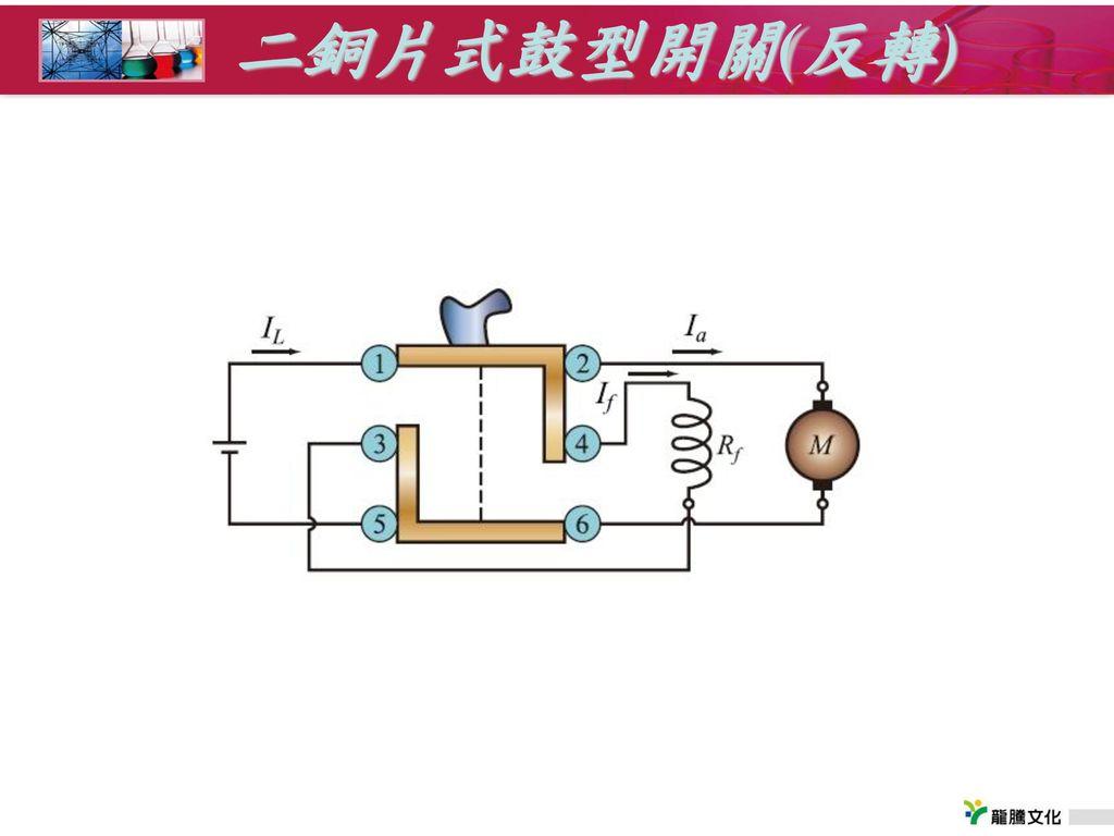 二銅片式鼓型開關(反轉)