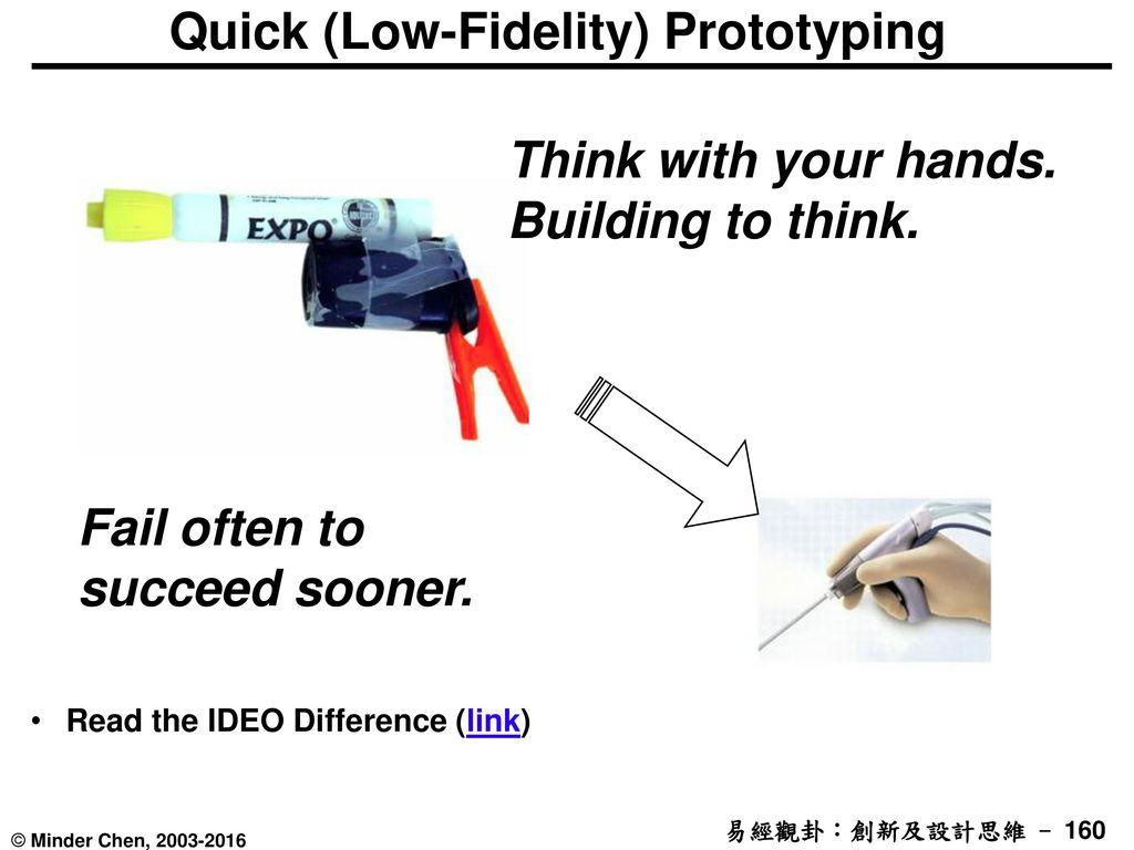 Quick (Low-Fidelity) Prototyping