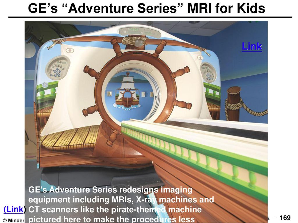 GE's Adventure Series MRI for Kids