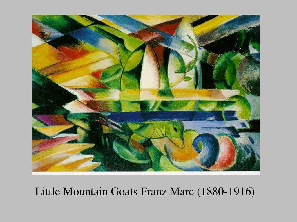 Little Mountain Goats Franz Marc ( )