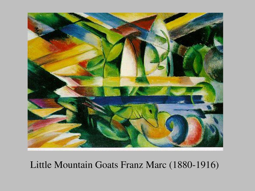 Little Mountain Goats Franz Marc (1880-1916)