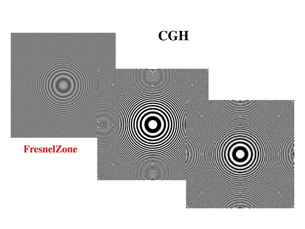 CGH FresnelZone