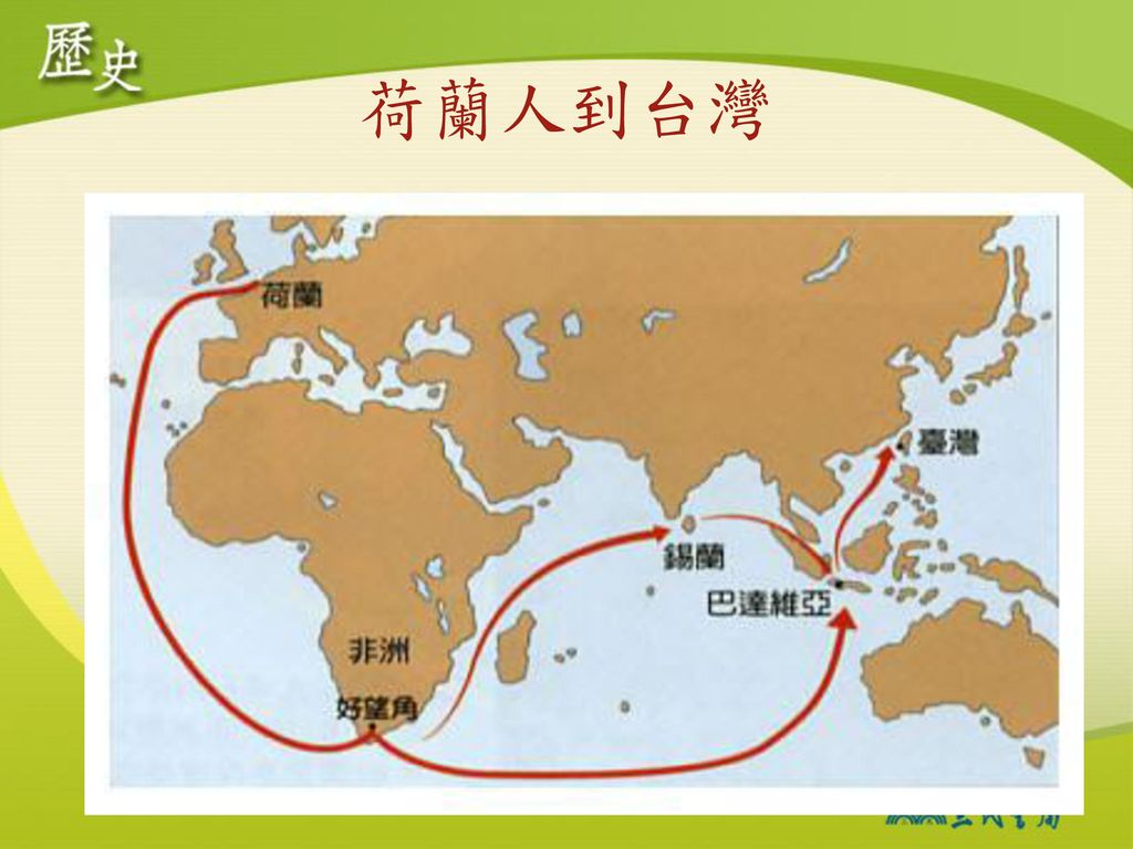 荷蘭人到台灣