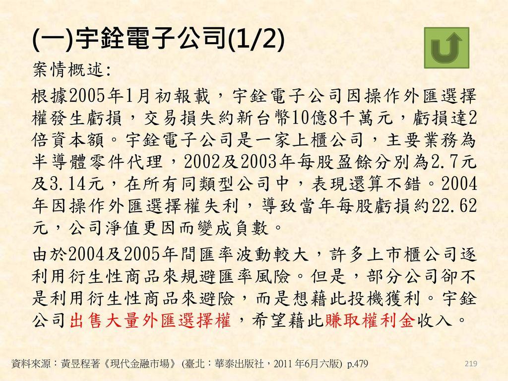 (一)宇銓電子公司(1/2)