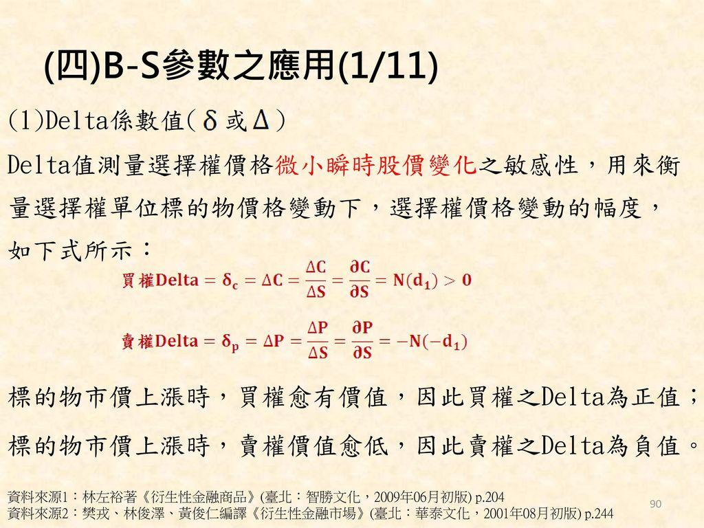 (四)B-S參數之應用(1/11)