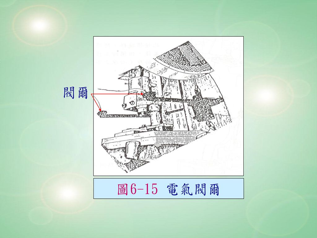 閥爾 圖6-15 電氣閥爾